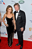 BEVERLY HILLS, CA. October 26, 2018: Lisa LoCicero & Nigel Lythgoe  at the 2018 British Academy Britannia Awards at the Beverly Hilton Hotel.<br /> Picture: Paul Smith/Featureflash