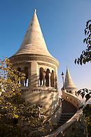 Fisherman's Bastion - Castle District, Budapest, Hungary