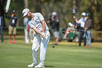 Brandon Grace (RSA) hits his approach shot on 10 during round 2 of the World Golf Championships, Mexico, Club De Golf Chapultepec, Mexico City, Mexico. 3/2/2018.<br /> Picture: Golffile | Ken Murray<br /> <br /> <br /> All photo usage must carry mandatory copyright credit (&copy; Golffile | Ken Murray)