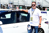 July 16, 2017 - Loudon, New Hampshire, U.S. -  New England Patriots offensive coordinator Josh McDaniels serves as the honorary pace car driver at  the NASCAR Monster Energy Overton's 301 race held at the New Hampshire Motor Speedway in Loudon, New Hampshire. Eric Canha/CSM
