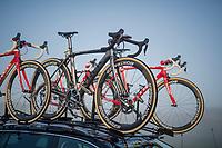 8AM: Team Trek-Segafredo is ready to race Roubaix<br /> <br /> 115th Paris-Roubaix 2017 (1.UWT)<br /> One Day Race: Compi&egrave;gne &rsaquo; Roubaix (257km)