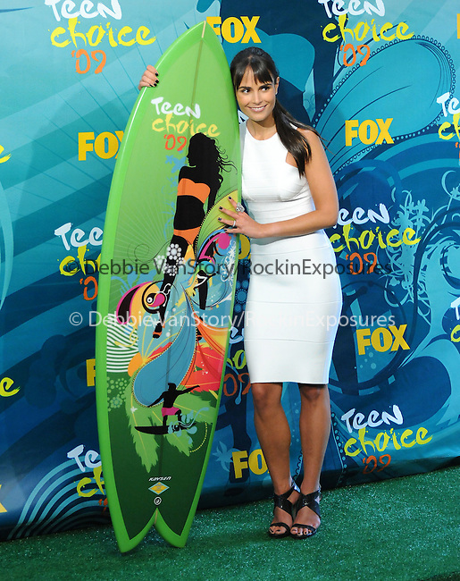 Jordana Brewster at The Fox 2009 Teen Choice Awards held at Universal Ampitheatre  in Universal City, California on August 09,2009                                                                                      Copyright 2009 Debbie VanStory / iPhoto