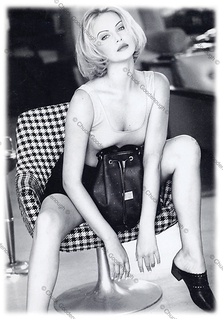 Charlize Theron for Guess Handbags