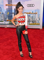 Jenna Ortega at the world premiere for &quot;Spider-Man: Homecoming&quot; at the TCL Chinese Theatre, Los Angeles, USA 28 June  2017<br /> Picture: Paul Smith/Featureflash/SilverHub 0208 004 5359 sales@silverhubmedia.com