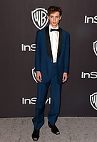 LOS ANGELES, CALIFORNIA - JANUARY 06: Troye Sivan attends the Warner InStyle Golden Globes After Party at the Beverly Hilton Hotel on January 06, 2019 in Beverly Hills, California. <br /> CAP/MPI/IS<br /> &copy;IS/MPI/Capital Pictures
