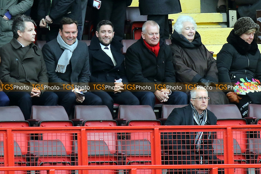 Bristol City new Manager, Lee Johnson watches from the Stand during Charlton Athletic vs Bristol City, Sky Bet Championship Football at The Valley