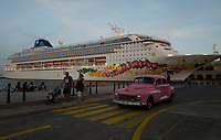 The Norwegian SKY cruise during last day in Havana.