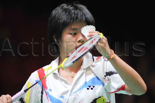 07.03.2012 Birmingham, England. Taerattanachai (Thailand) in action at the Yonex All England Championships from the NIA in Birmingham