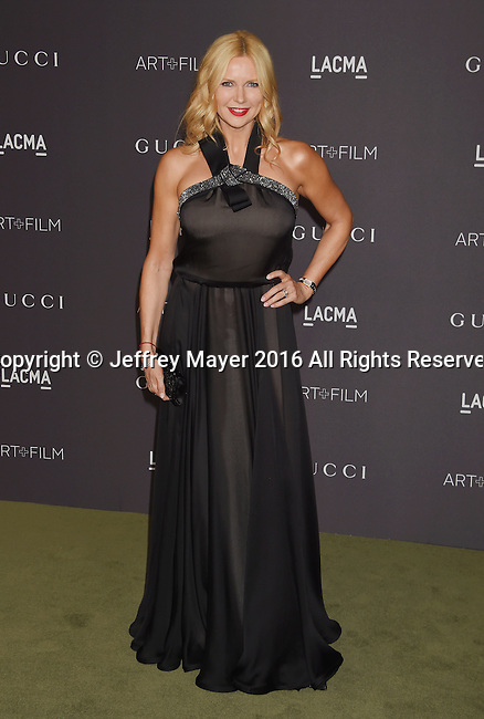 LOS ANGELES, CA - OCTOBER 29: Actress Veronica Ferres attends the 2016 LACMA Art + Film Gala honoring Robert Irwin and Kathryn Bigelow presented by Gucci at LACMA on October 29, 2016 in Los Angeles, California.