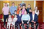 Timmy Dan O'Sullivan Mastergeeha celebrated his 40th birthday with his family and friends in the Killarney Avenue Hotel on Saturday night