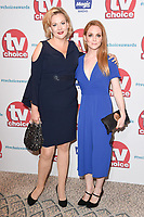 Sara Stewart &amp; Olivia Hallinan at the TV Choice Awards 2017 at The Dorchester Hotel, London, UK. <br /> 04 September  2017<br /> Picture: Steve Vas/Featureflash/SilverHub 0208 004 5359 sales@silverhubmedia.com