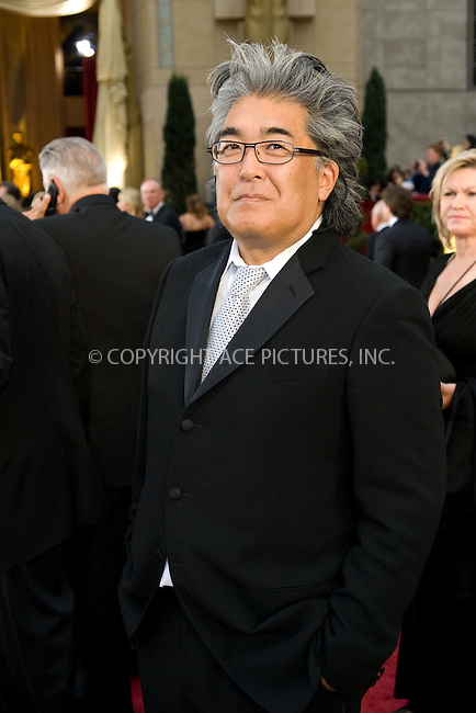WWW.ACEPIXS.COM . . . . .  ....February 22, 2009. Hollywood, CA....Steven Okazaki, nominated for Documentary Short for 'The Conscience of Nhem En', arrives at the 81st Annual Academy Awards held at the Kodak Theater on February 22, 2009 in Hollywood, CA.......Please byline: Z09- ACEPIXS.COM.... *** ***..Ace Pictures, Inc:  ..Philip Vaughan (646) 769 0430..e-mail: info@acepixs.com..web: http://www.acepixs.com