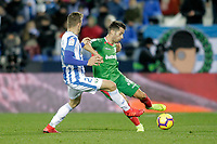 CD Leganes' Ruben Perez (L) and Deportivo Alaves' Jony Rodriguez during La Liga match. November 23,2018. (ALTERPHOTOS/Alconada) /NortePhoto.com