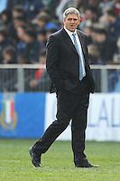 Nick Mallett, head coach Italy<br /> Italia vs Galles<br /> RBS 6 Nations Rugby Championship 2011<br /> Stadio Flaminio;<br /> Roma, 26/02/2011<br /> Photo Antonietta Baldassarre Insidefoto