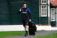 Francois Louw of Bath Rugby arrives at the Rec. Heineken Champions Cup match, between Bath Rugby and Wasps on January 12, 2019 at the Recreation Ground in Bath, England. Photo by: Patrick Khachfe / Onside Images