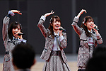 Members of AKB48 Team 8 perform during the Grand Opening Ceremony of Ariake Arena on February 2, 2020, Tokyo, Japan. The new sporting and cultural centre will host the volleyball and wheelchair basketball competitions during the Tokyo 2020 Olympic Games. (Photo by Rodrigo Reyes Marin/AFLO)