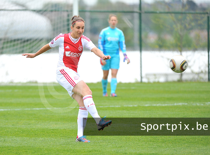 RSC Anderlecht Dames - Ajax Amsterdam : Leonne Stentler.foto DAVID CATRY / Nikonpro.be