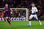 UEFA Champions League 2018/2019 - Matchday 6.<br /> FC Barcelona vs Tottenham Hotspur FC: 1-1.<br /> Ivan Rakitic vs Eriksen.