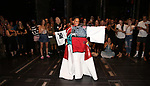 "During the Broadway Opening Night Legacy Robe Ceremony honoring Bahiyah Hibah for  ""Moulin Rouge! The Musical"" at the Al Hirschfeld Theatre on July 25,2019 in New York City."