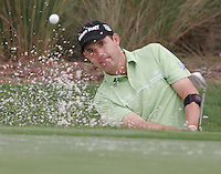 Gary Wilcox/Staff É05/08/08ÉPadraig Harrington makes a chip shot on the 2nd hole during the first round of The Players Championship on Thursday (05/08/08) at the TPC Sawgrass Stadium Course in Ponte Vedra Beach, FL.
