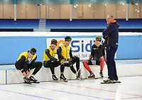 Thialf Heerenveen 041116<br /> training ploegenachtervolging<br /> &copy;foto Martin de Jong