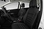 Front seat view of a 2018 Ford C-Max Hybrid Titanium 5 Door Mini Van front seat car photos