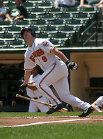 July 14, 2003:  Chad Green of the Rochester Red Wings during a game at Frontier Field in Rochester, New York.  Photo by:  Mike Janes/Four Seam Images