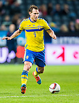 Solna 2014-10-12 Fotboll EM-kval , Sverige - Liechtenstein :  <br /> Sveriges Kim K&auml;llstr&ouml;m i aktion <br /> (Photo: Kenta J&ouml;nsson) Keywords:  Sweden Sverige Friends Arena EM Kval EM-kval UEFA Euro European 2016 Qualifying Group Grupp G Liechtenstein portr&auml;tt portrait