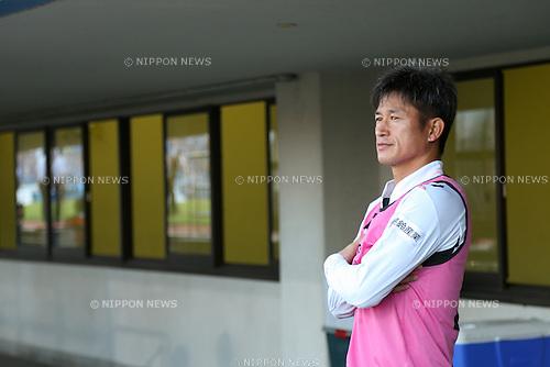 Kazuyoshi Miura (Yokohama FC), <br /> JULY 26, 2014 - Football /Soccer : <br /> 2014 J.LEAGUE Division 2 <br /> between Yokohama FC 4-0 Jubilo Iwata <br /> at NHK Spring Mitsuzawa Football Stadium, Kanagawa, Japan. <br /> (Photo by AFLO SPORT) [1205]