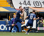 04.08.2019 Kilmarnock v Rangers: Stephen O'Donnell c elebrates his goal