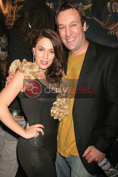 Gabriel Jarret and Christina DeRosa<br /> at the Birthday and Viewing Party for Fashion Designer Tal Sheyn, sponsored by Shoes for the Stars and Shoe String Ent., 24 Carat, West Hollywood, CA. 10-18-08<br /> Dave Edwards/DailyCeleb.Com 818-249-4998