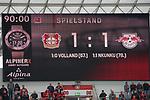 05.10.2019, BayArena, Leverkusen, GER, 1. FBL, Bayer 04 Leverkusen vs. RB Leipzig,<br />  <br /> DFL regulations prohibit any use of photographs as image sequences and/or quasi-video<br /> <br /> im Bild / picture shows: <br /> Endstand 1:1<br /> <br /> Foto © nordphoto / Meuter