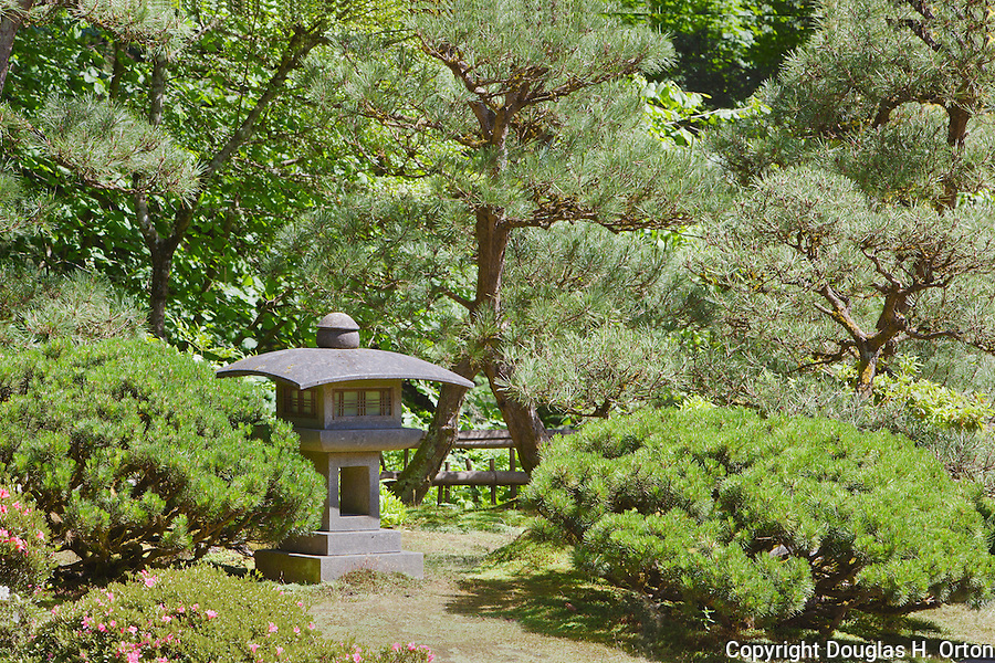 Concrete Lantern, Portland Japanese Garden | Douglas Orton