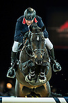John Whitaker of United Kingdom rides Argento in action during the Gucci Gold Cup as part of the Longines Hong Kong Masters on 14 February 2015, at the Asia World Expo, outskirts Hong Kong, China. Photo by Johanna Frank / Power Sport Images