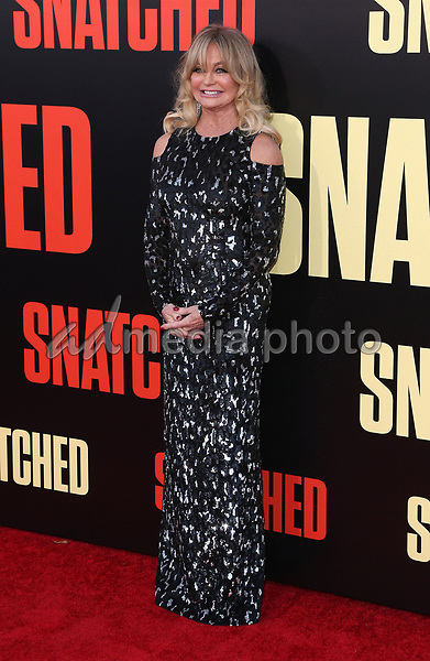 "10 May 2017 - Westwood, California - Goldie Hawn. ""Snatched"" World Premiere held at the Regency Village Theatre. Photo Credit: AdMedia"