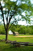 """Duke Homestead State Historic Site in Durham, NC. The restored Duke Homestead is an authentic """"living museum of tobacco history"""" offering activities that demonstrate early farming techniques and manufacturing processes which made tobacco such an essential mainstay of the state's economy."""