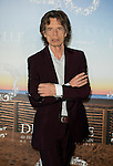 Mick Jagger poses during a photocall to present 'Get on up' during the 40th Deauville US Film Festival, on September 12, 2014