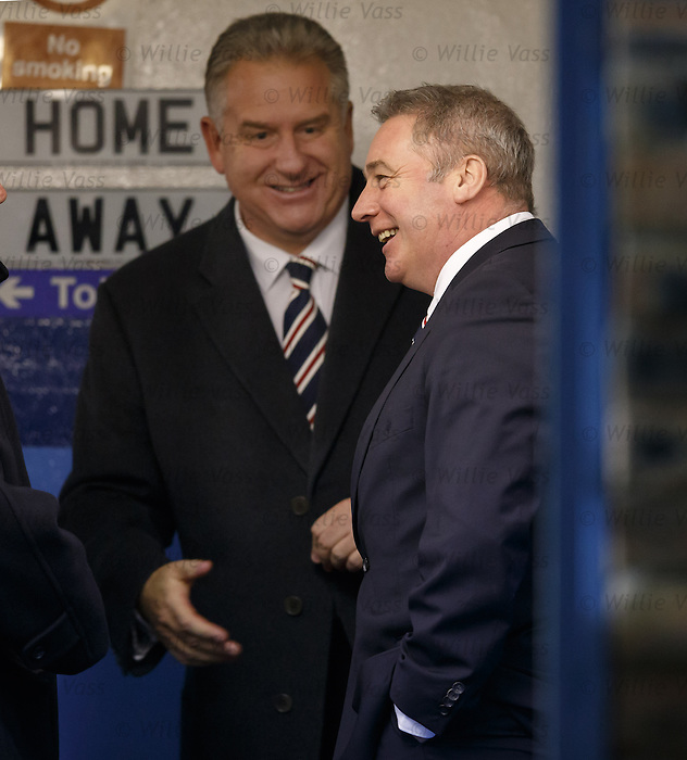 Ally McCoist and Graham Wallace