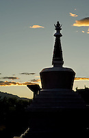 Religious structures - gompas and chortens - dot all the regions of Ladakh offering various tokens of worship.