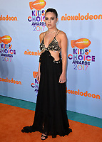 Actress Bea Miller at the Nickelodeon 2017 Kids' Choice Awards at the USC's Galen Centre, Los Angeles, USA 11 March  2017<br /> Picture: Paul Smith/Featureflash/SilverHub 0208 004 5359 sales@silverhubmedia.com