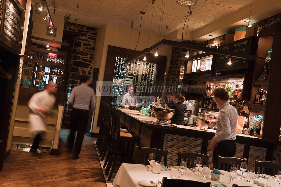 Amérique/Amérique du Nord/Canada/Québec/Montréal: Restaurant: Chez L'Epicier dans le Vieux-Montréal