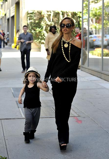 ACEPIXS.COM<br /> <br /> September 12 2014, New York City<br /> <br /> Designer Rachel Zoe walks in Soho with her son Skyler Morrison Berman on September 12 2014 in New York City<br /> <br /> <br /> By Line: Curtis Means/ACE Pictures<br /> <br /> ACE Pictures, Inc.<br /> www.acepixs.com<br /> Email: info@acepixs.com<br /> Tel: 646 769 0430