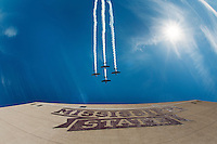 Flyover before Homecoming Game 2015 vs Louisiana Tech<br />