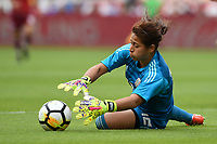 Houston, TX - Sunday April 8, 2018: Cecilia Santiago during an International friendly match versus the women's National teams of the United States (USA) and Mexico (MEX) at BBVA Compass Stadium.