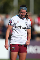 Erin Simon of West Ham during Arsenal Women vs West Ham United Women, Barclays FA Women's Super League Football at Meadow Park on 8th September 2019