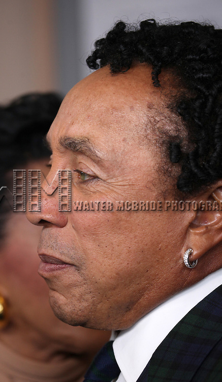 Smokey Robinson attending the Broadway World Premiere Launch for 'Motown: The Musical' at the Nederlander in New York. Sept. 27, 2012