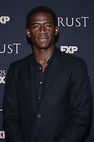 "NEW YORK CITY - MARCH 15: Damson Idris attends FX Networks 2018 Annual All-Star Talent Party and ""Trust"" screening at the SVA Theater on March 15, 2018 in New York City. (Photo by Anthony Behar/FX/PictureGroup)"