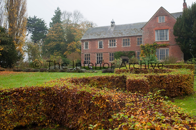 The product of centuries of alterations Hellens Manor is being restored gradually to its former glory