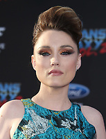 HOLLYWOOD, CA - April 19: Clare Grant, At Premiere Of Disney And Marvel's &quot;Guardians Of The Galaxy Vol. 2&quot; At The Dolby Theatre  In California on April 19, 2017. <br /> CAP/MPI/FS<br /> &copy;FS/MPI/Capital Pictures