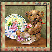 GIORDANO, CUTE ANIMALS, LUSTIGE TIERE, ANIMALITOS DIVERTIDOS, Teddies, paintings+++++,USGI2774,#AC# teddy bears